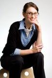 Mulher de negócio ou adolescente confiável Foto de Stock
