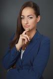 Mulher de negócio pensativa 2 Fotos de Stock Royalty Free