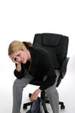 Mulher de negócio preocupada Imagens de Stock Royalty Free
