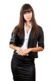 Mulher de negócio séria. foto de stock