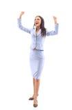 A mulher de negócio tem suas mãos imagens de stock royalty free