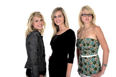 Mulher de negócio três 3 foto de stock royalty free