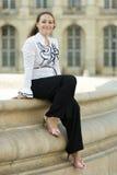 Mulher de negócio urbana Imagens de Stock