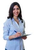Mulher de negócios árabe bonita Foto de Stock