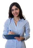 Mulher de negócios árabe de riso Imagem de Stock Royalty Free