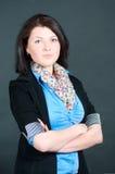 A mulher de negócios Fotografia de Stock