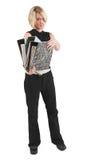 Mulher de negócios #48 Fotografia de Stock Royalty Free