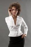 Mulher de negócios fotografia de stock