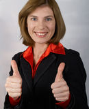 Mulher de negócios Fotografia de Stock Royalty Free