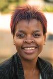 Mulher de negócios africana Fotografia de Stock