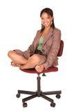 Mulher de negócios africana Imagem de Stock