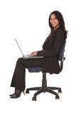 Mulher de negócios africana foto de stock royalty free