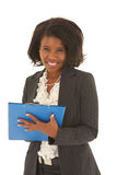 Mulher de negócios africana bonita Fotos de Stock Royalty Free