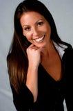 Mulher de negócios amigável Imagem de Stock Royalty Free