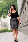 Mulher de negócios asiática foto de stock royalty free