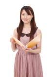 Mulher de negócios asiática nova Foto de Stock
