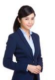 Mulher de negócios asiática nova Fotografia de Stock Royalty Free