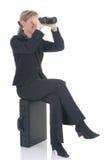 Mulher de negócios atrativa Foto de Stock Royalty Free
