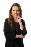 Mulher de negócios atrativa Imagens de Stock