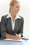 Mulher de negócios atrativa Imagem de Stock Royalty Free