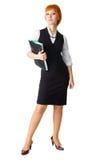 Mulher de negócios atrativa Fotografia de Stock