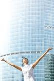 Mulher de negócios bem sucedida imagem de stock royalty free