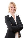 Mulher de negócios bem sucedida Foto de Stock