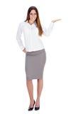 Mulher de negócios bem sucedida foto de stock royalty free