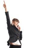 Mulher de negócios bonita fotos de stock royalty free