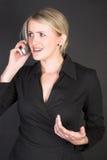 Mulher de negócios bonita foto de stock royalty free