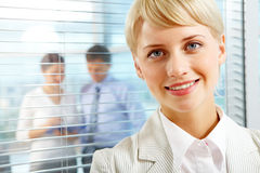 Mulher de negócios Charming Foto de Stock Royalty Free