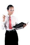 Mulher de negócios chinesa Imagem de Stock