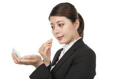 A mulher de negócios compõe Imagens de Stock Royalty Free