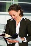 Mulher de negócios confiável. Foto de Stock Royalty Free