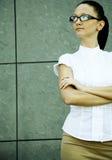 Mulher de negócios confiável fotografia de stock royalty free