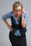 Mulher de negócios confiável imagem de stock