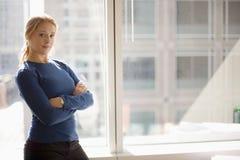 Mulher de negócios confiável Imagens de Stock
