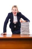 Mulher de negócios da mulher Foto de Stock