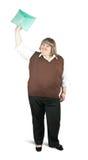 Mulher de negócios de Happyl Foto de Stock Royalty Free
