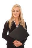 Mulher de negócios de sorriso foto de stock royalty free