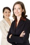 Mulher de negócios de sorriso Imagem de Stock