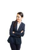Mulher de negócios de sorriso Fotos de Stock