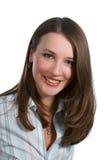 Mulher de negócios de sorriso bonita Imagem de Stock