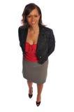 Mulher de negócios do African-american fotografia de stock royalty free
