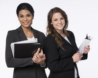 Mulher de negócios dois Imagem de Stock Royalty Free