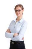 Mulher de negócios esperta Fotos de Stock