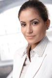 Mulher de negócios esperta Foto de Stock Royalty Free