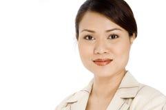 Mulher de negócios feliz Imagem de Stock