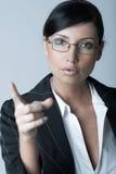 Mulher de negócios (Fria-Ver) Imagens de Stock