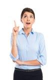 Mulher de negócios Got An Idea Fotografia de Stock